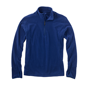 Storm Creek 4609 Men's Drop-Needle Microfleece Half-...