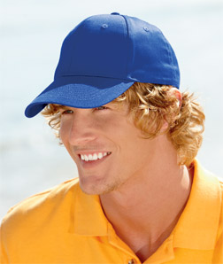 8121 UltraClub Adult Classic Cut Cotton Twill Cap