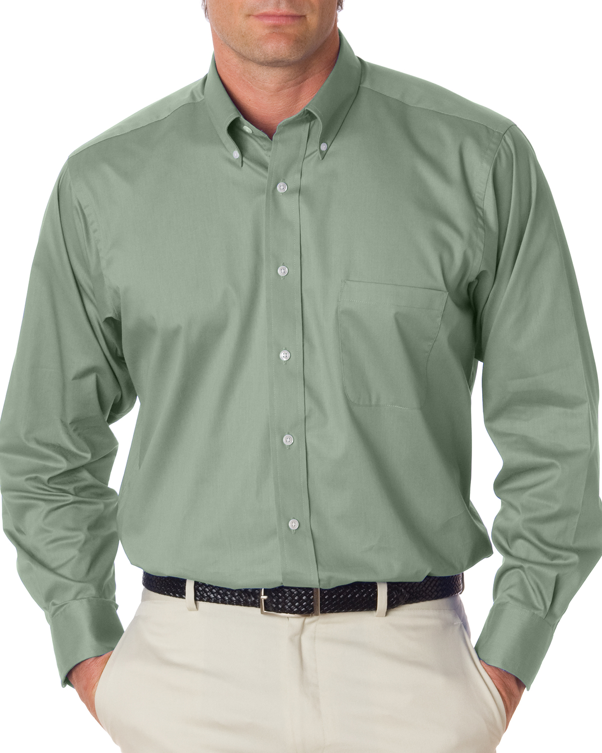 Van Heusen 13V521  Men's Dress Twill