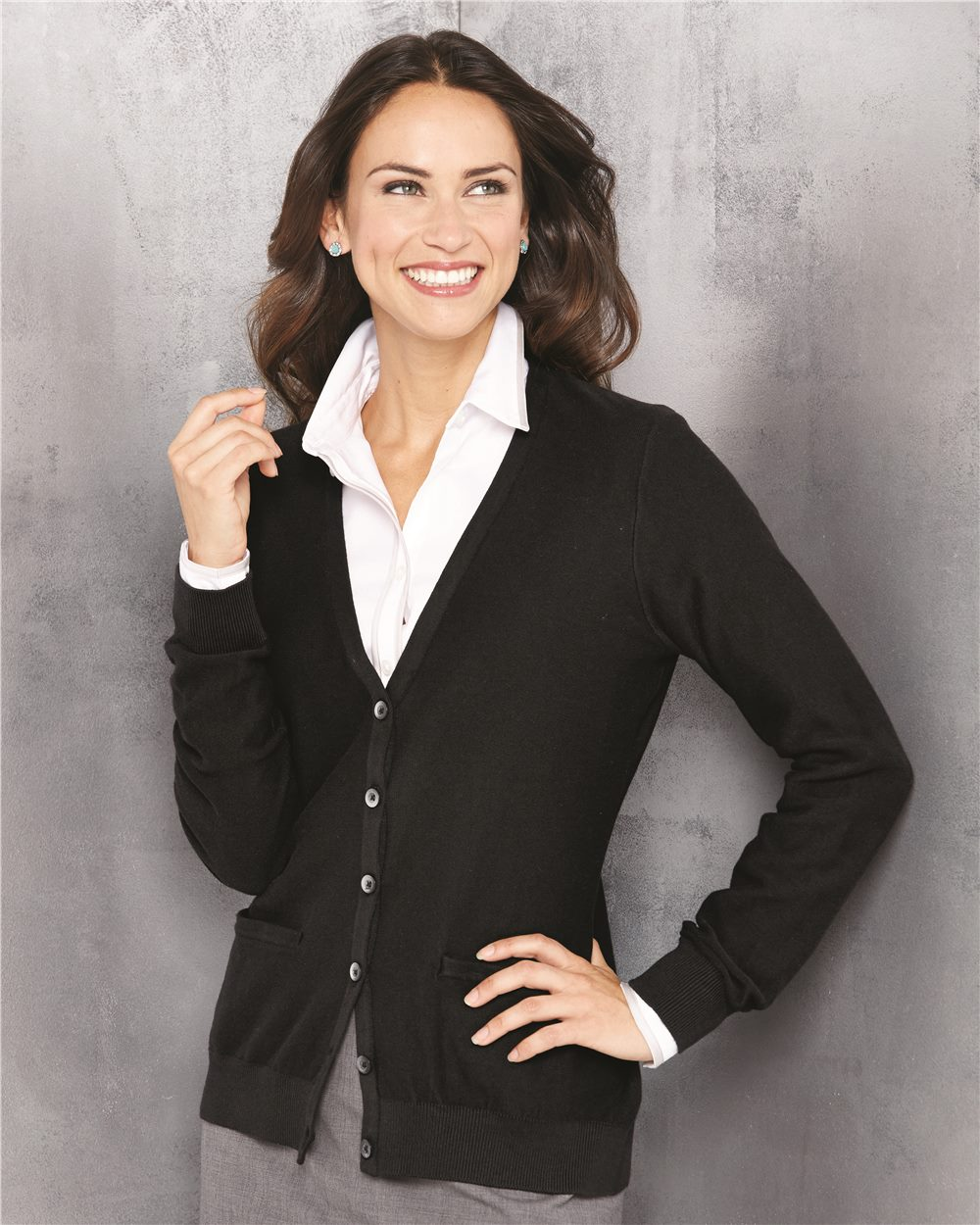 Van Heusen 13VS007 - Women's Cardigan Sweater