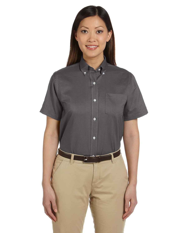 Van Heusen 59850  Women's Short-Sleeve Wrinkle-Resistant ...