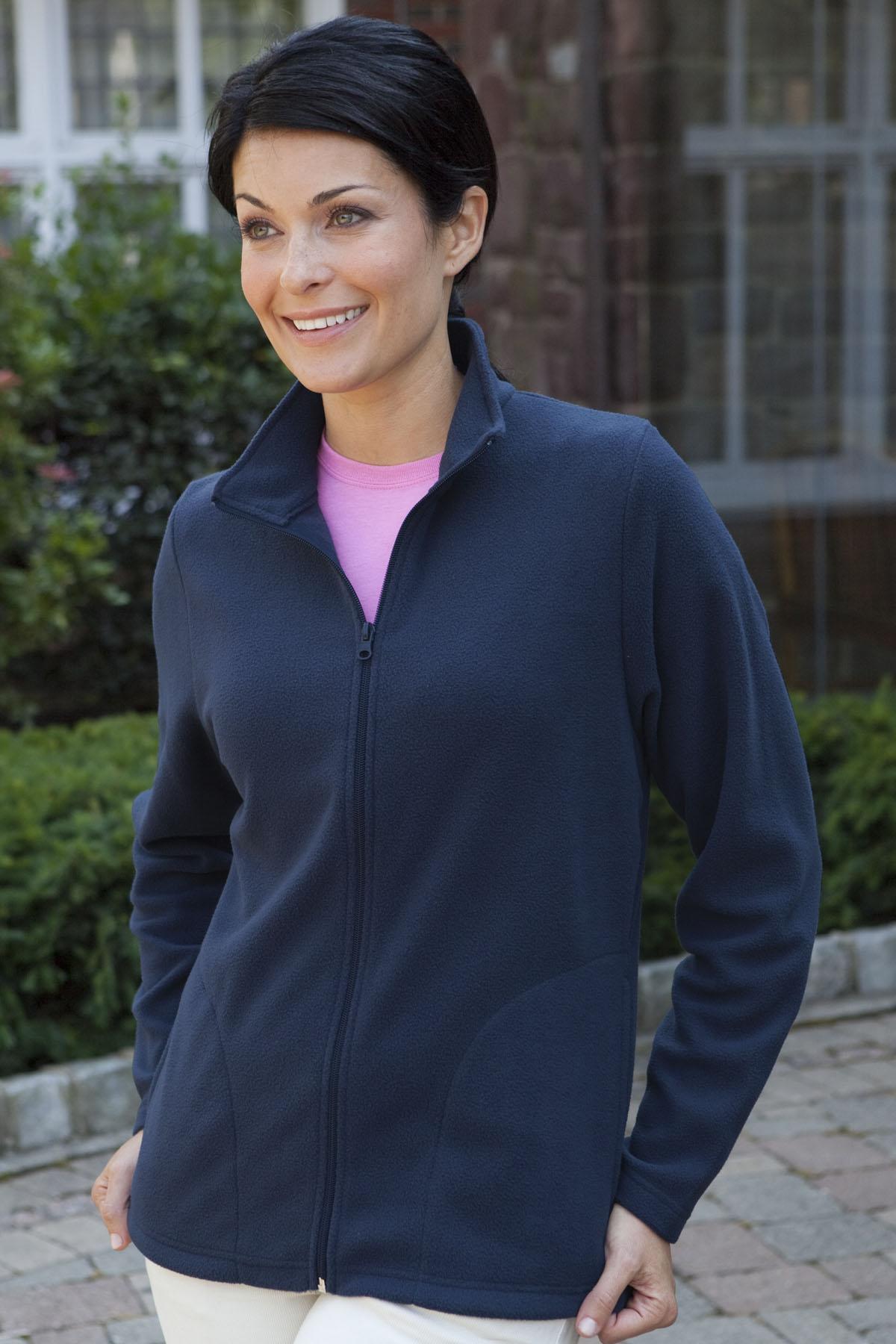 Vantage 3101 - Women's Pioneer Vantek Full-Zip Fleece ...