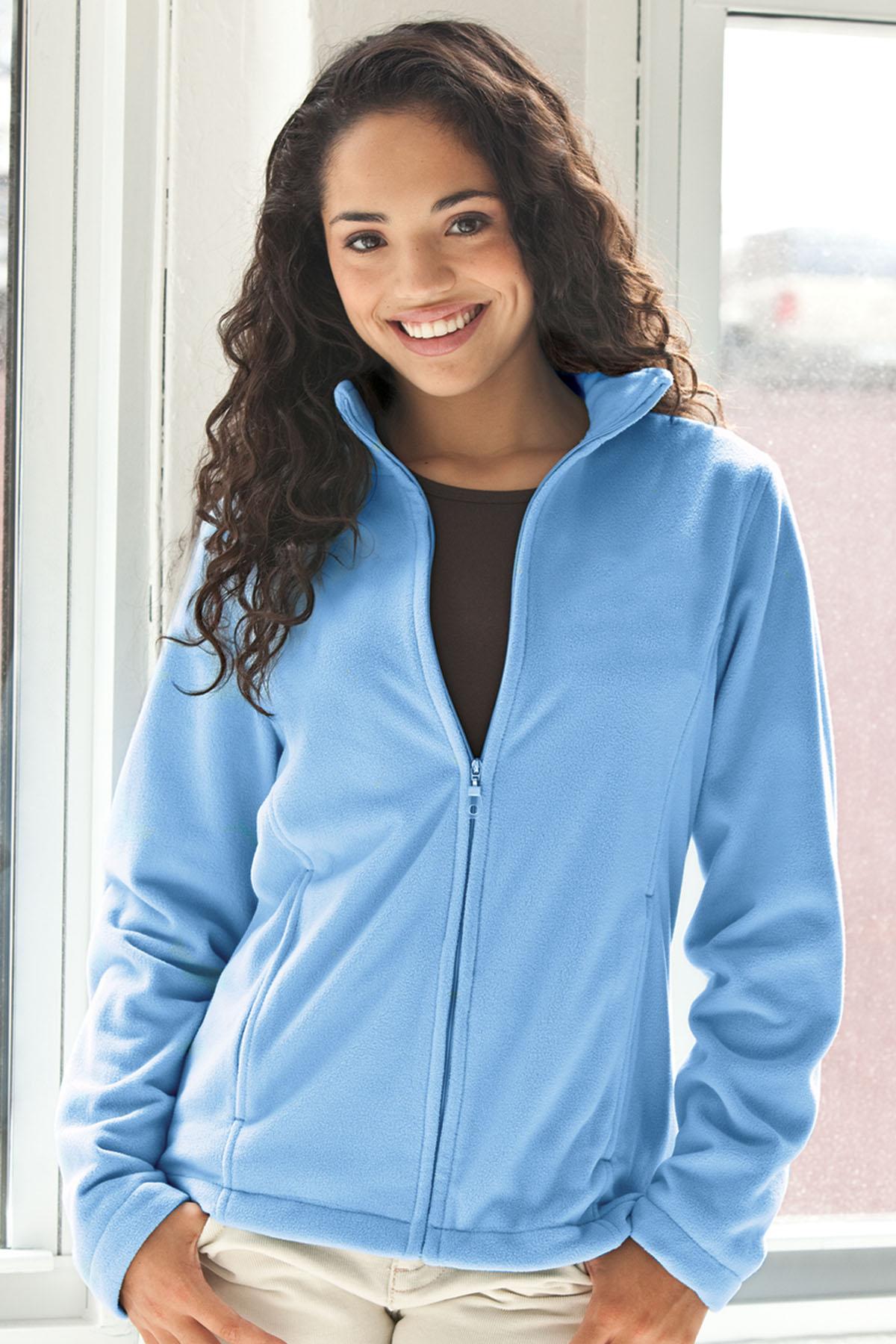 Vantage 3266 - Women's Vantek Microfiber Full-Zip Jacket