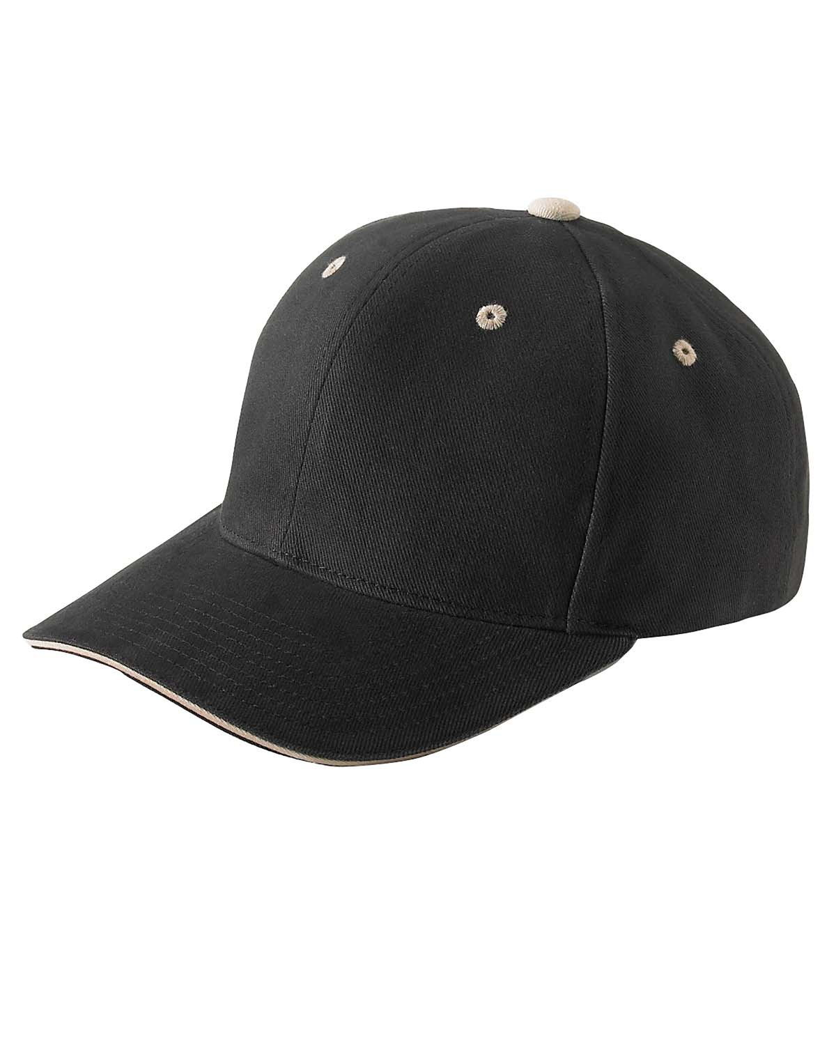 Yupoong 6262S Brushed Cotton Twill 6-Panel Mid-Profile . 27d2e3ee3cea