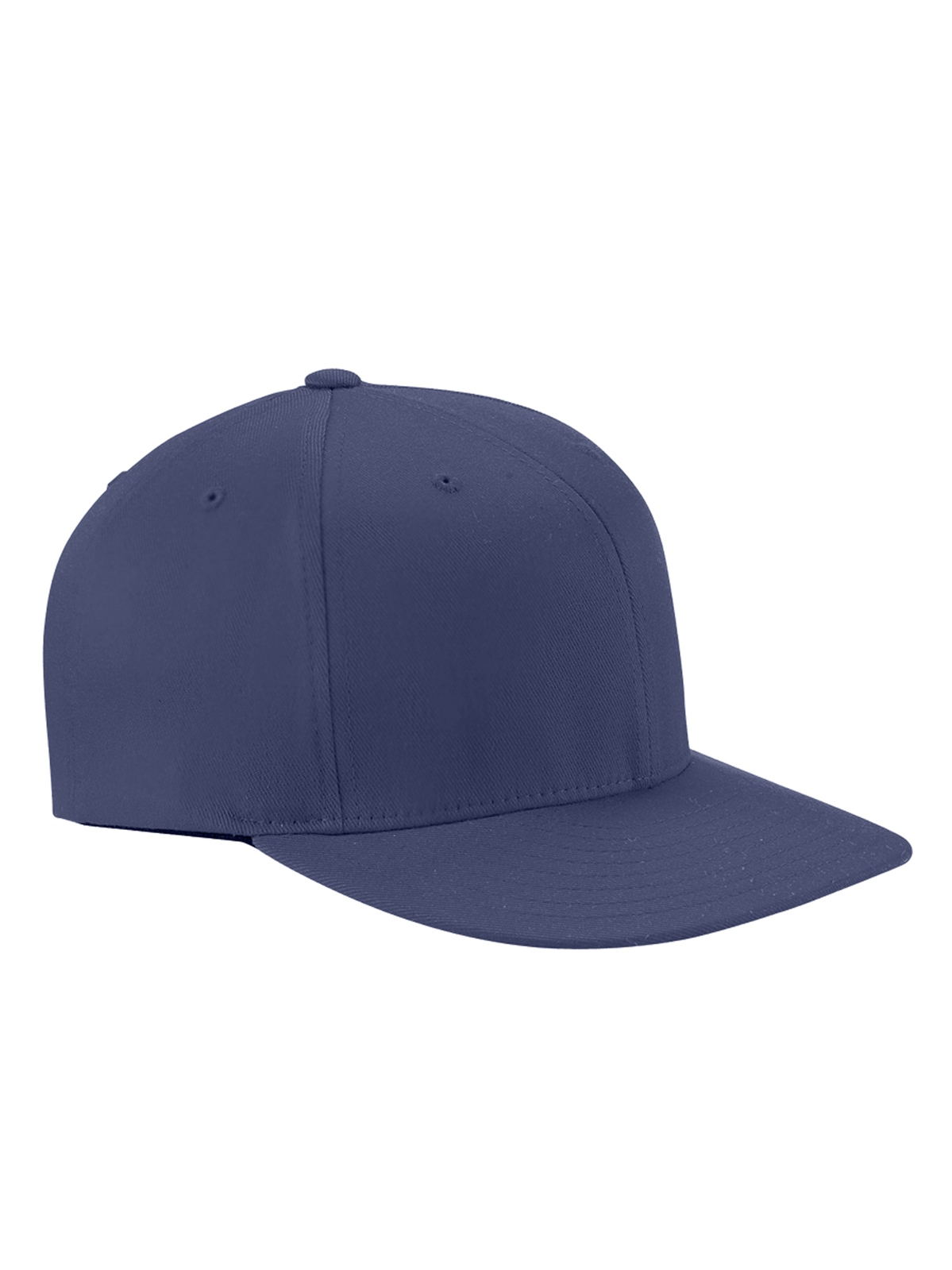 Flexfit 6297F - Adult Wooly Twill Pro Baseball On-Field Shape Cap w/Flat Bill
